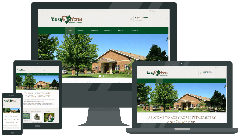 Pet Services Website Design