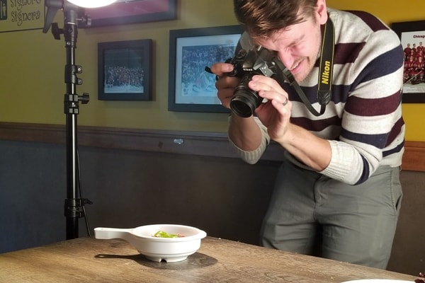 Professional Restaurant Photographer